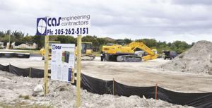 Florida City Casino Construction Site