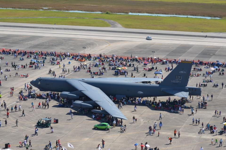 Air Show Aerial