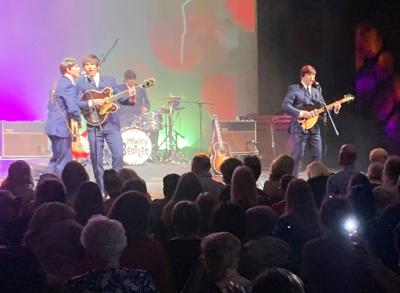 The audience danced the night away at the Mersey Beatles  performance at the Seminole Theatre on Friday.