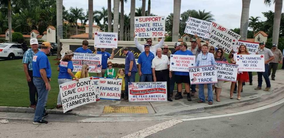 Farmers Rally for Fair Trade