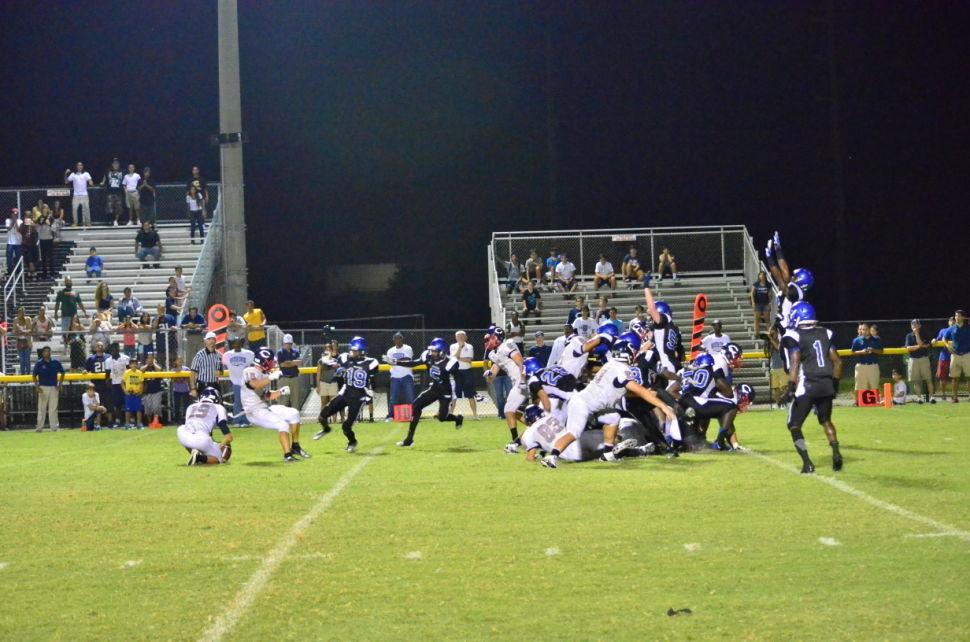 South Dade v Columbus Blocked Kick