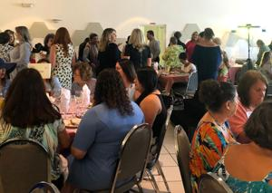 """Community women turned out for a full house at the """"Women of the Year"""" brunch."""