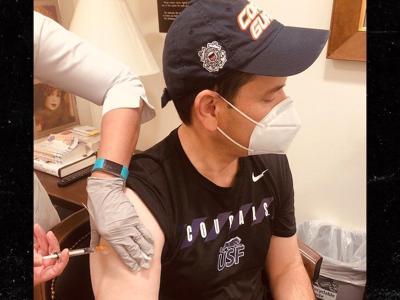 Sen. Marco Rubio received the Pfizer-BioNTech COVID-19 vaccine on Saturday.