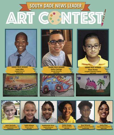 SDNL student art contest winners