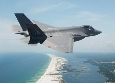 F-35 at Florida's Eglin Air Force Base
