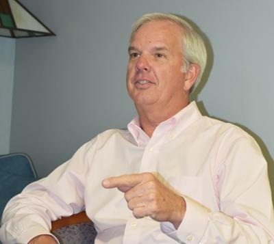 Mayor Jeff Porter discusses his enthusiasm for returning to the mayor's seat in Homestead.