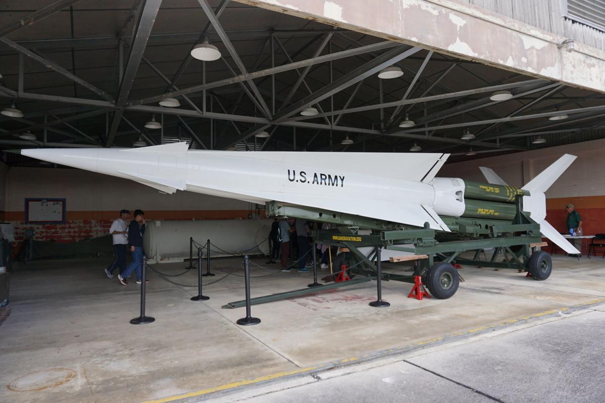 Nike Missiles at ENP