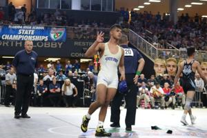 Bretli Reyna, three time state champion