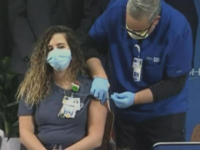 Administering Covid-19 vaccine
