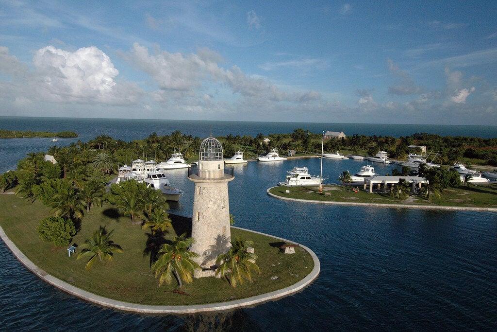 Biscayne Bay's Boca Chita Key.
