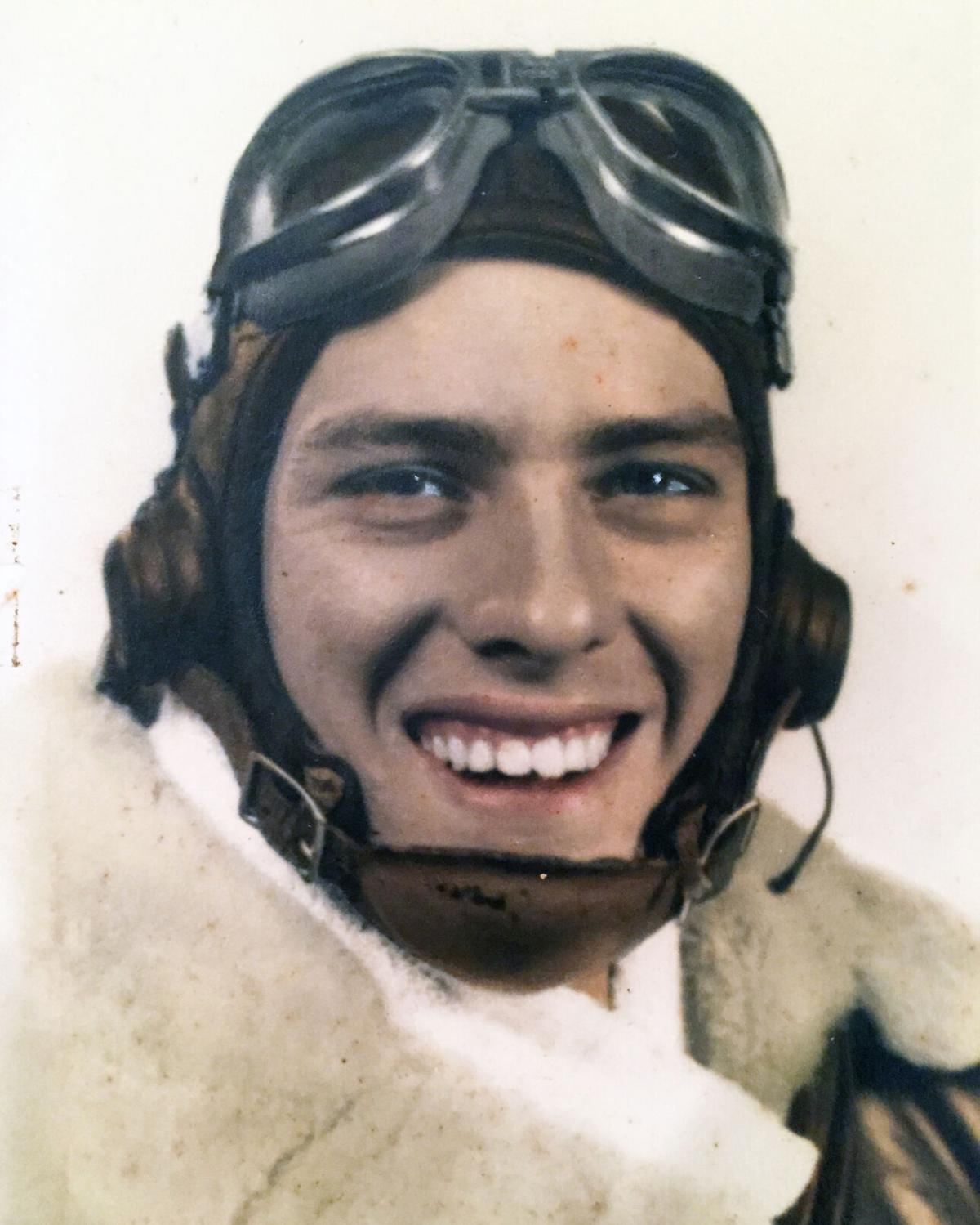 A young Marlow Jacobsen during his service in WWII.