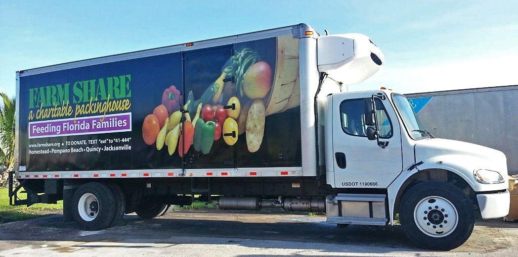 Genial Farm Share Truck