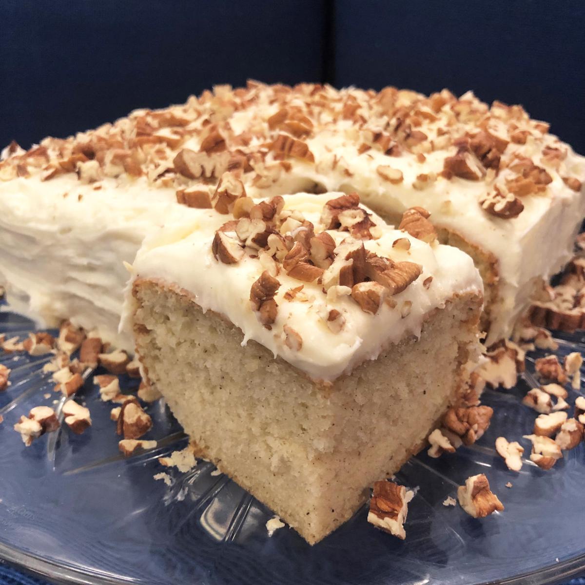Vanilla Supper Cake