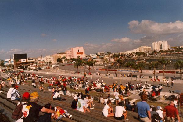 Location of Miami Grand Prix 1983 - 1995.