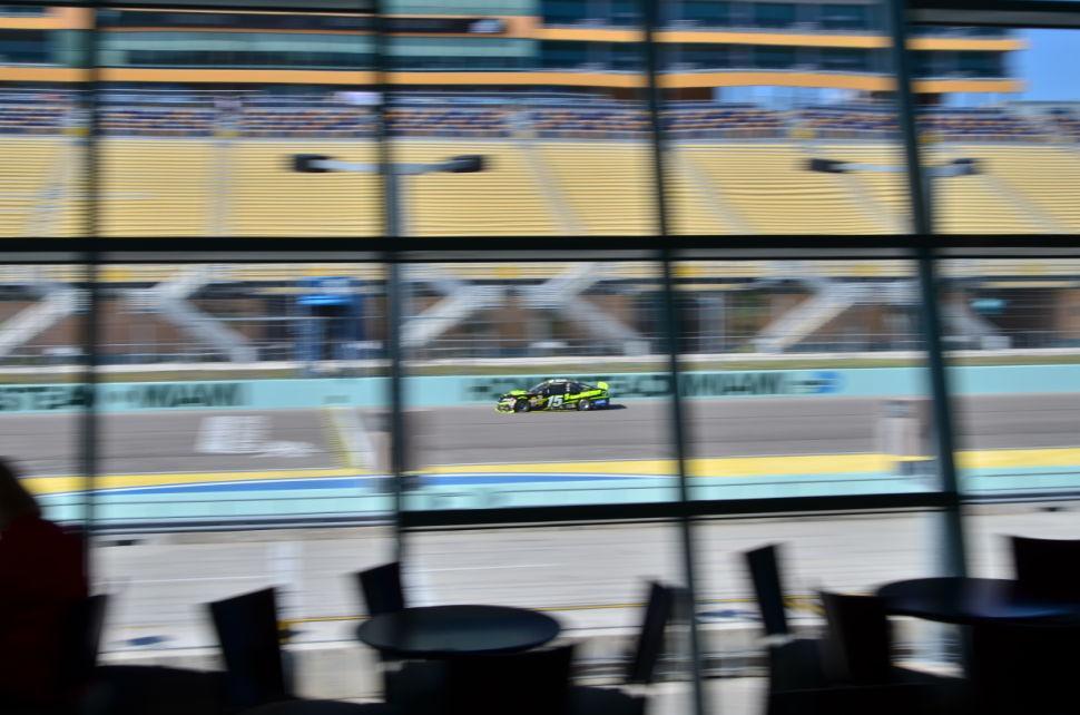 NASCAR Testing Bowyer