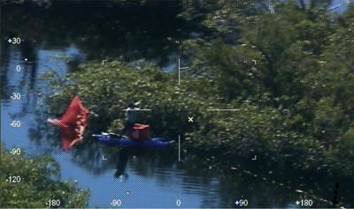 Rescued Kayaker