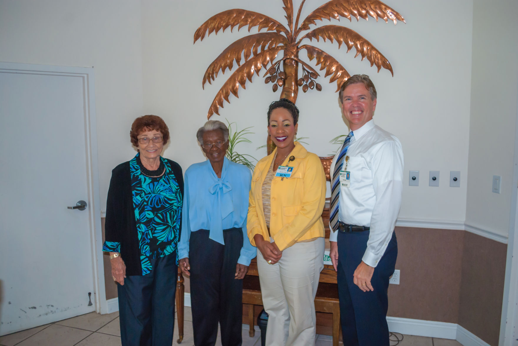 Pictured Above From Left To Right Are Womanu0027s Club Of Homestead President  Lorraine Strano, Juanita Smith Of The Homestead Soup Kitchen, Homestead  Hospital ... Design