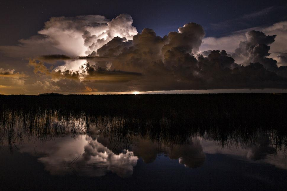 Everglades Night Lightning