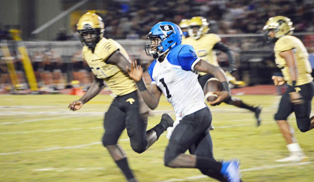South Dade's Kelvin Durham rushed for 51 yards on eight carries.