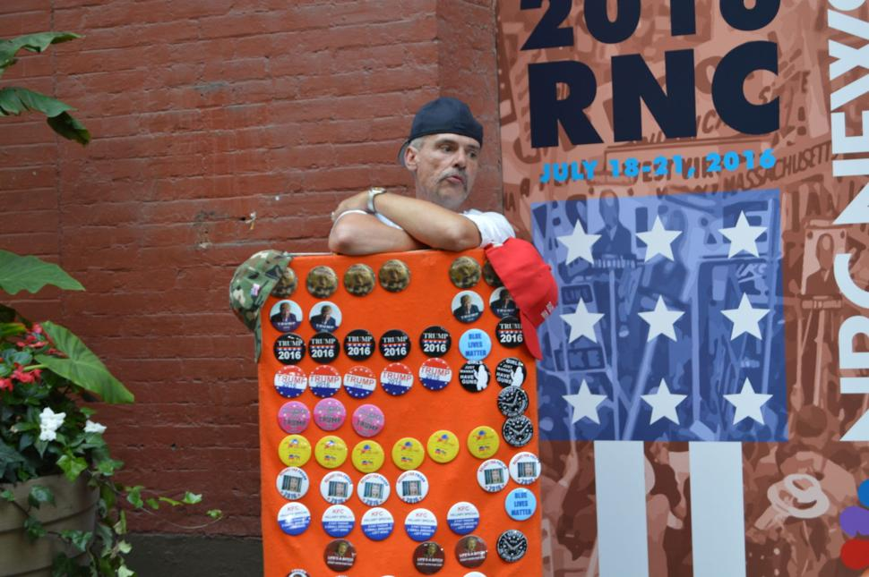 RNC Convention in Cleveland - Buttons