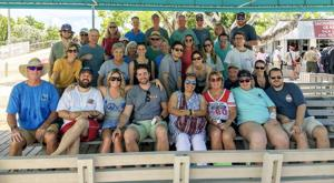 Members of the Pennekamp Family gather at John Pennekamp Coral Reef State Park