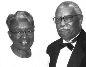Miss Juanita Smith and her husband Thom