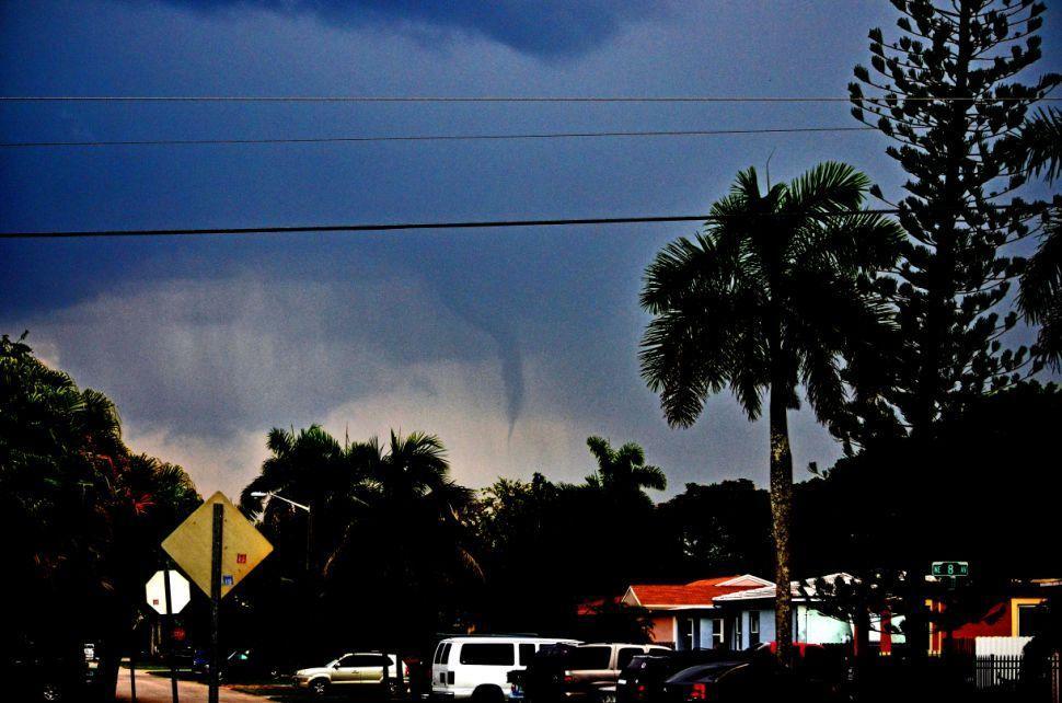 Funnel Cloud Over Homestead