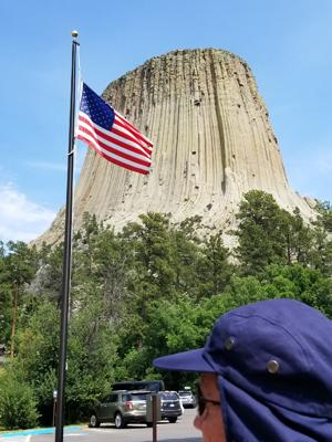 Phil at Devils Tower National Monument