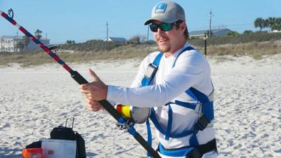Enjoy shore-based shark fishing safely and legally.