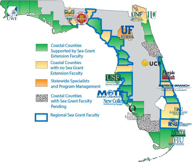 Sea Grant throughout Florida