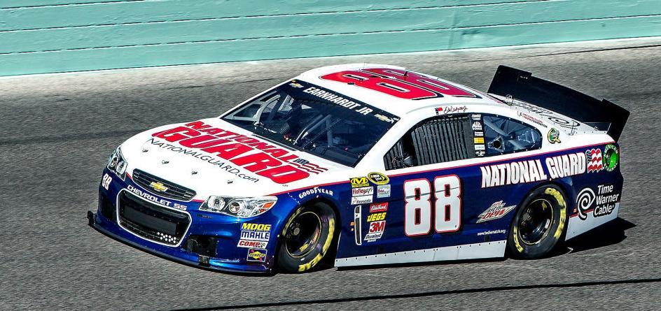 NASCAR Testing Dale Jr.