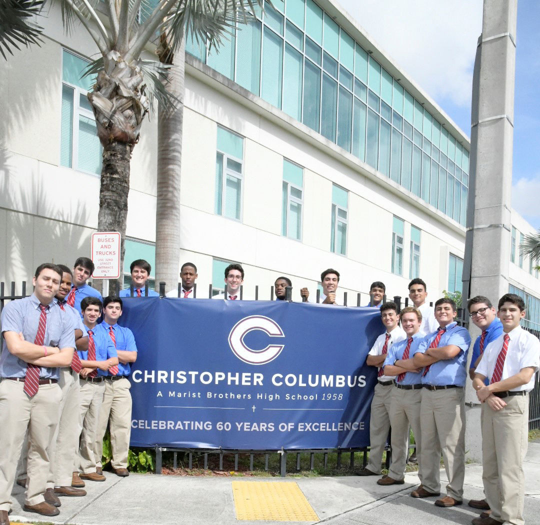 Students proud to  celebrate 60 years of excellence.