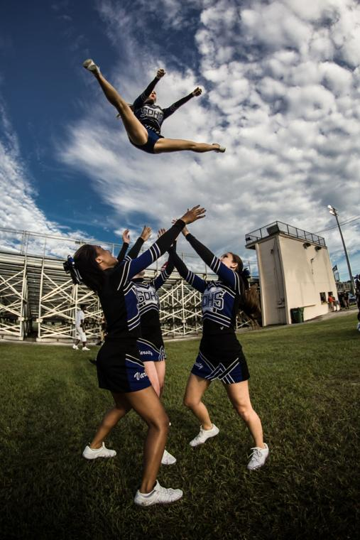South Dade Football Cheerleading