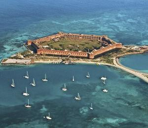 Fort Jefferson at Dry Tortugas