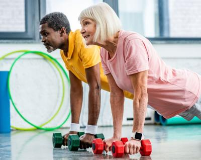 Helping Older Adults be Healthier
