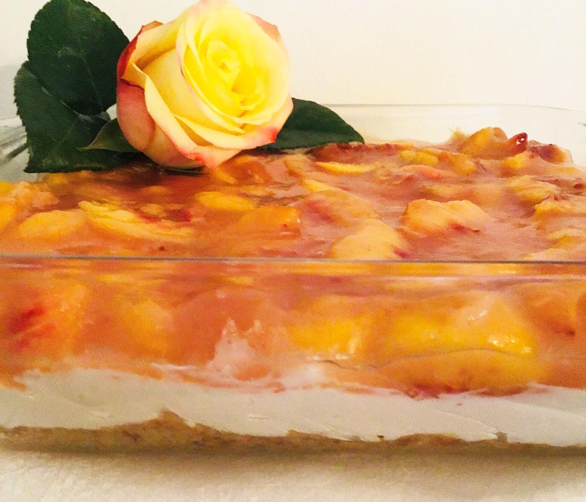 Peach Paradise Dessert