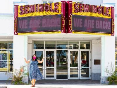 Seminole Theatre Director Katherine Rubio is excited for the shows to begin.