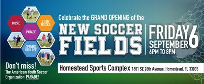 Celebrate the Grand Opening of the New Soccer Fields