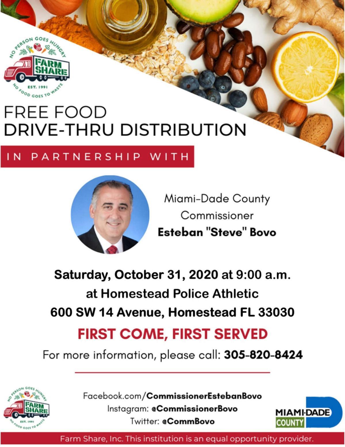 Farm Share Food Distribution