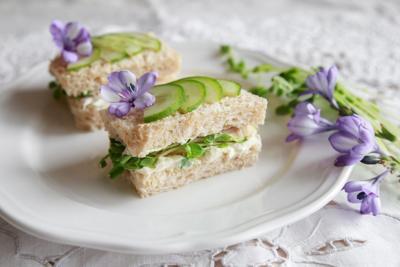 Classic Cucumber Sandwiches