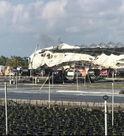 Farm damage in Homestead from Hurricane Irma