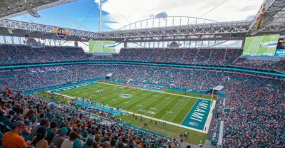 The Hard Rock Stadium will host the Super Bowl