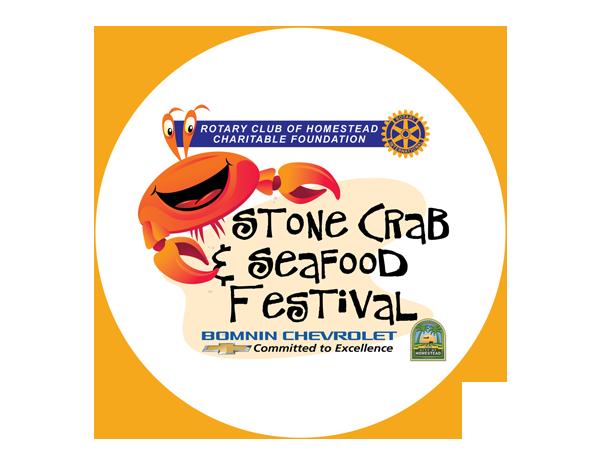 Stone Crab & Seafood fest Logo