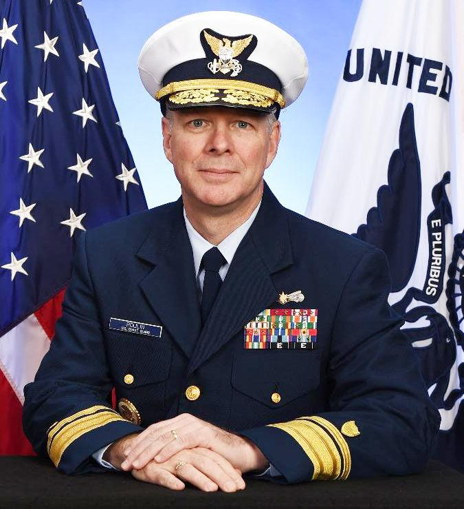 Coast Guard Rear Admiral Steven D. Poulin, who serves as U.S. Southern Command's Director of Operations