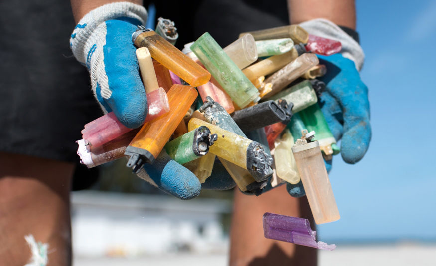 Microplastics and plastic debris is becoming a major problem on  beaches around the world