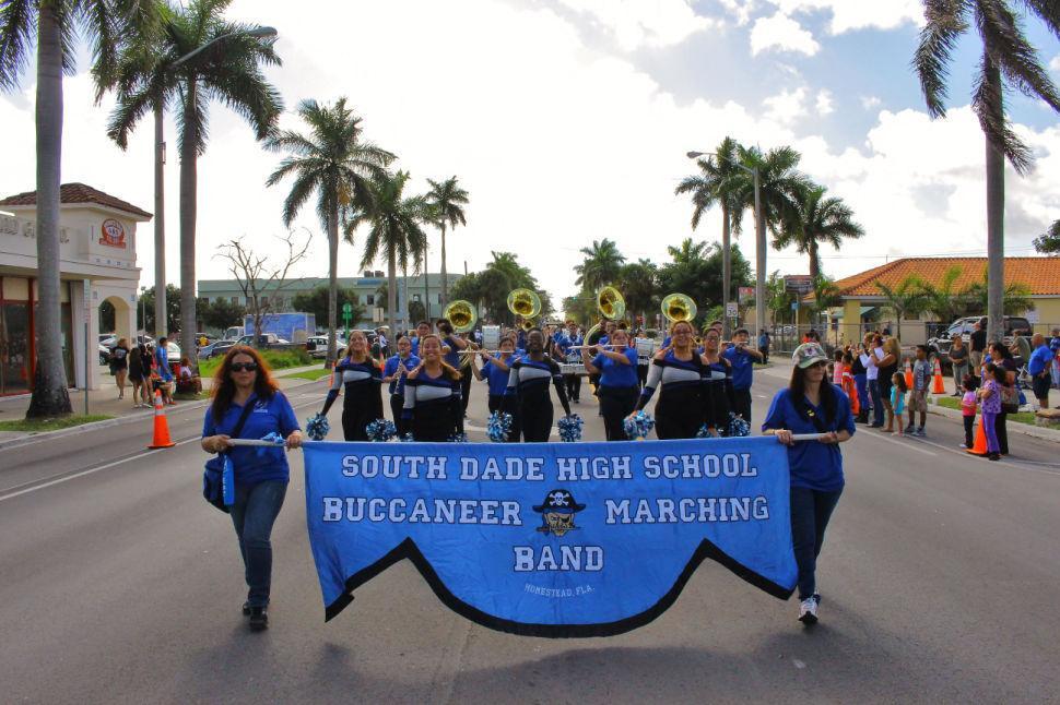 South Dade Championship Parade Band