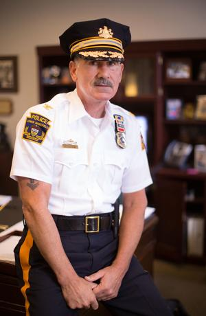 Lower Makefield Police Chief Ken Coluzzi