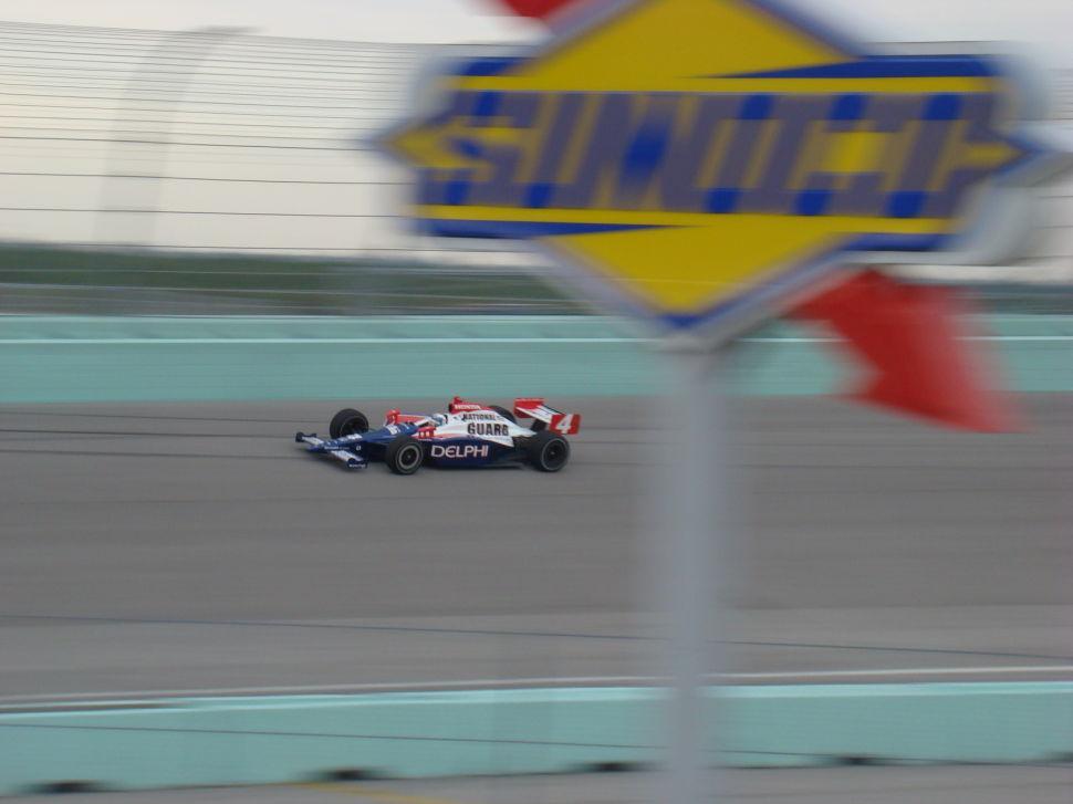 IndyCar Testing Vitor Meira
