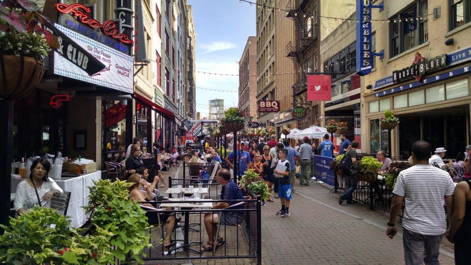 RNC Convention in Cleveland - 4th street