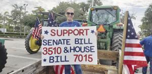 Farmers rally for senate bills 3510 and 7015
